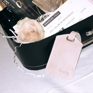 Custom Luggage tags personalized, Leather luggage tags, luggage tag favor, luggage tags wedding, mother's day wedding favors photo