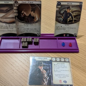 Tudor games Diferent 1+2 Slots Star Wars NEW DESIGN of TRAYS for Cards Magic Screen Ticket to Ride Wingspan Sushi Go Tokens