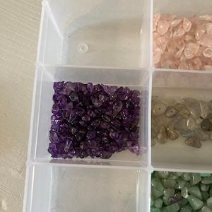 Natural Amethyst Chip Beads Strand, Semi Precious, Gemstone Chips, Gemstone Beads, Jewelry Making Supply, GemMartUSA (CHAA-70001) photo
