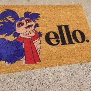 Labyrinth Ello Worm Doormat Ello Worm Doormat