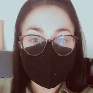 Face mask with Filter Pocket and Nose Wire 1 DAY UK Delivery face mask washable reusable 3 Layers face mask face covering Facemask photo