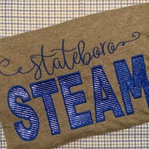 Melanie Machine Embroidery Font Monogram Alphabet - 3 Sizes photo