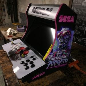 Easy To Assemble Xlp Bartop Tabletop Arcade Cabinet Diy
