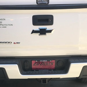 Gloss Orange Rear Trunk Tailgate Letter Insert Decal Compatible with and Fits Toyota Tacoma 2016 2017 2018 2019 Haru Creative