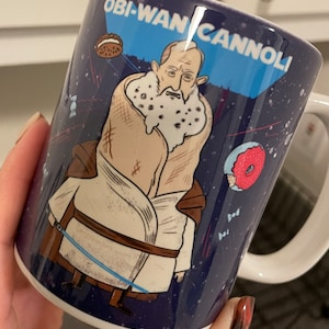 -Great Sarcasm cup White Funny Coffee or Tea Mugs YODA OBI WAN For Me by Eitly