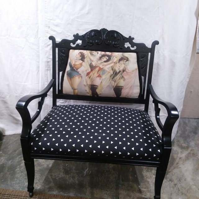 Gatsby Book Cover Printed Fabric Panel Make A Cushion Upholstery Craft