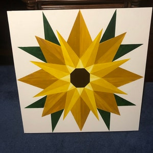 three sizes included! Double Wedding Ring Barn Quilt Pattern Transfer
