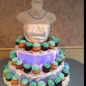 Sweet 16 Dress My Cupcake DMC98190 Personalized Dessert Table Party Kit Polka Dot