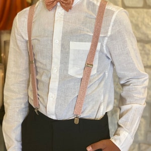 PrimMall Pattern Wide Suspenders for Adults