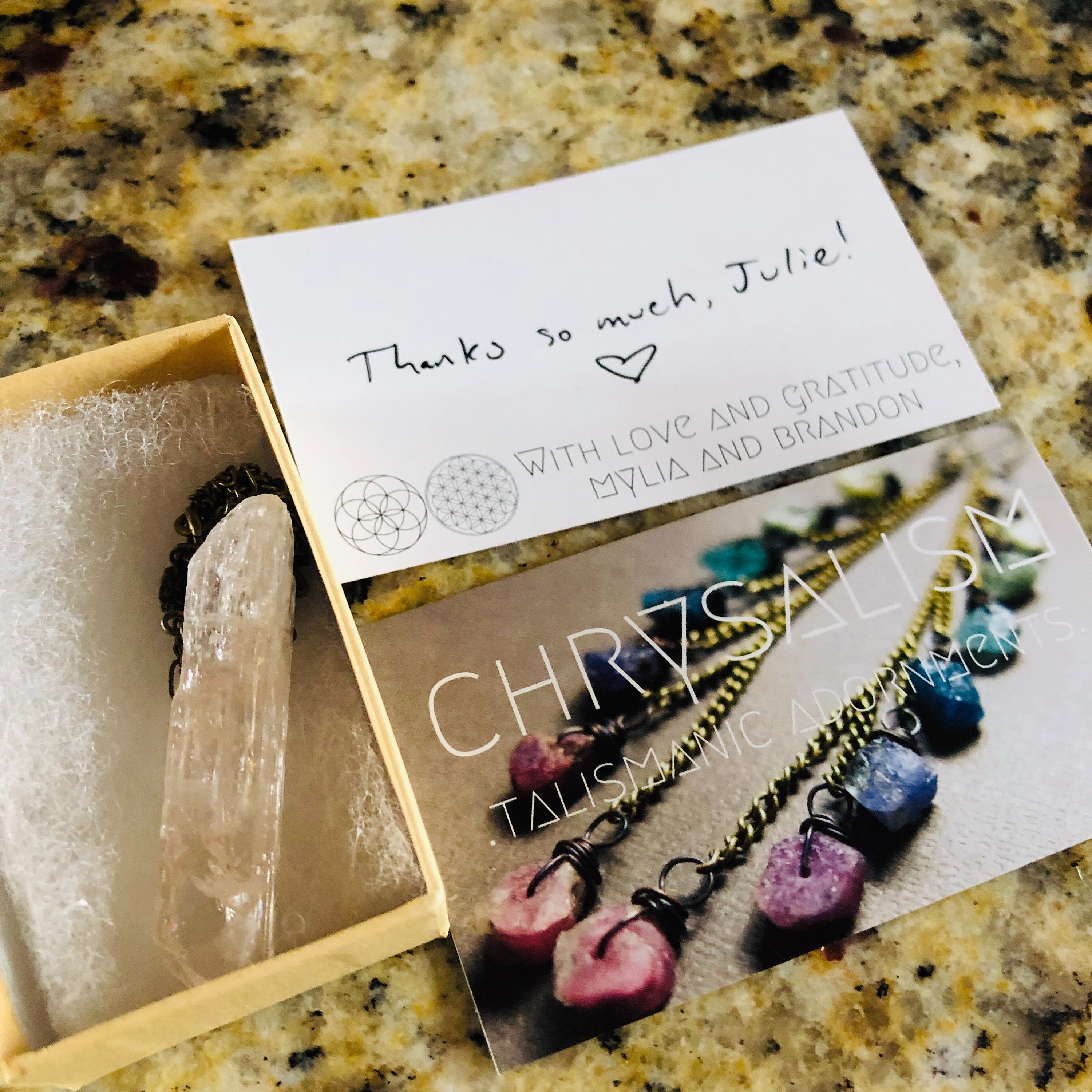 Julie Kate added a photo of their purchase