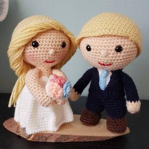 Häkelanleitung Brautpaar Set Braut Bräutigam Hochzeit Etsy
