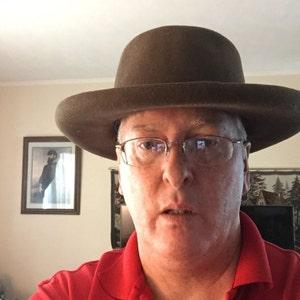 b83c78cd405 Pork Pie Phil Sheridan Hat Civil War reenactment military