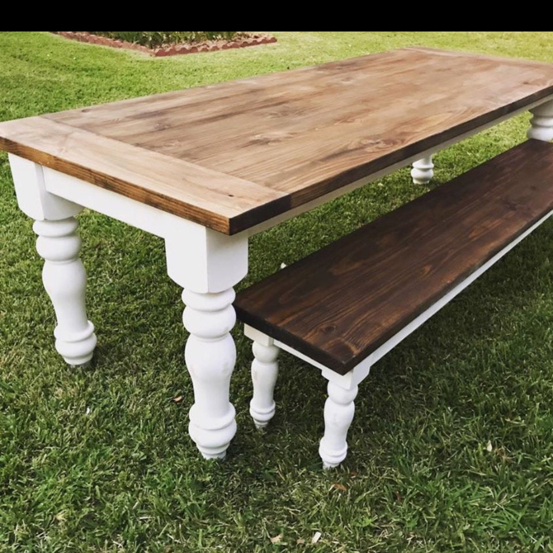 Unfinished Farmhouse Dining Table Legs Wood Legs Turned
