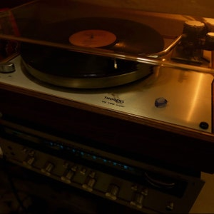 Custom Thorens TD-160 Super Reproduction with new Jelco TK-850S Tonearm