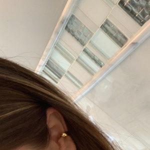 Thick Ear Cuff • ear cuff no piercing • gold ear cuff • ear cuff non pierced • fake helix piercing • ear cuffs • fake piercings photo