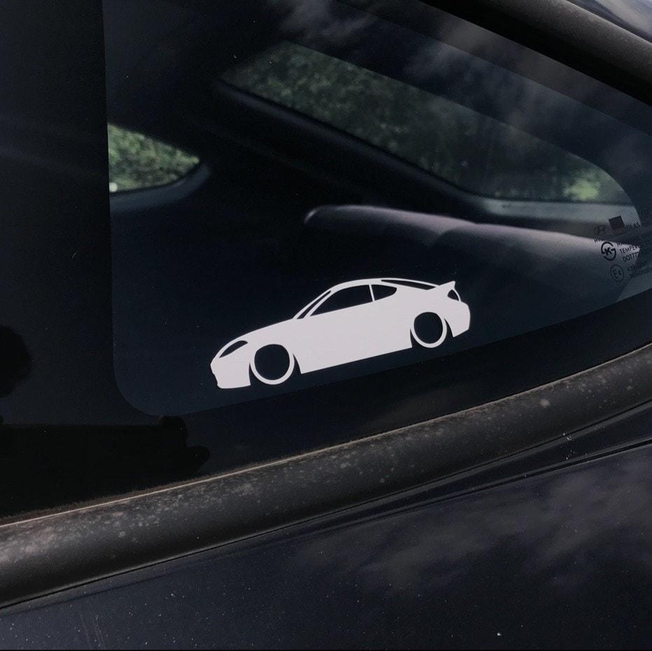 2x Custom YOUR TEXT car stickers for Kia Optima TF, 2010–2015