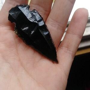 Obsidian Arrowhead AA8 photo