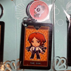 yu rise anime phone strap yosuke Persona 4 Keychain chie Persona 4 acrylic keychain Persona 4 acrylic charms anime keychain kanji