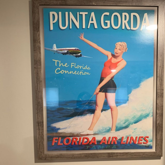 VANCOUVER Canada TWA Lauren Holly Airline Plane Travel Poster PinUp Art Print127