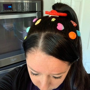 Vanellope Hair Clips Vanellope Hair Candy Vanellope Etsy
