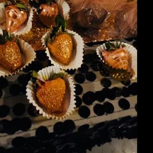 Rose Gold Edible Glitter 6 Grams Copper | Etsy
