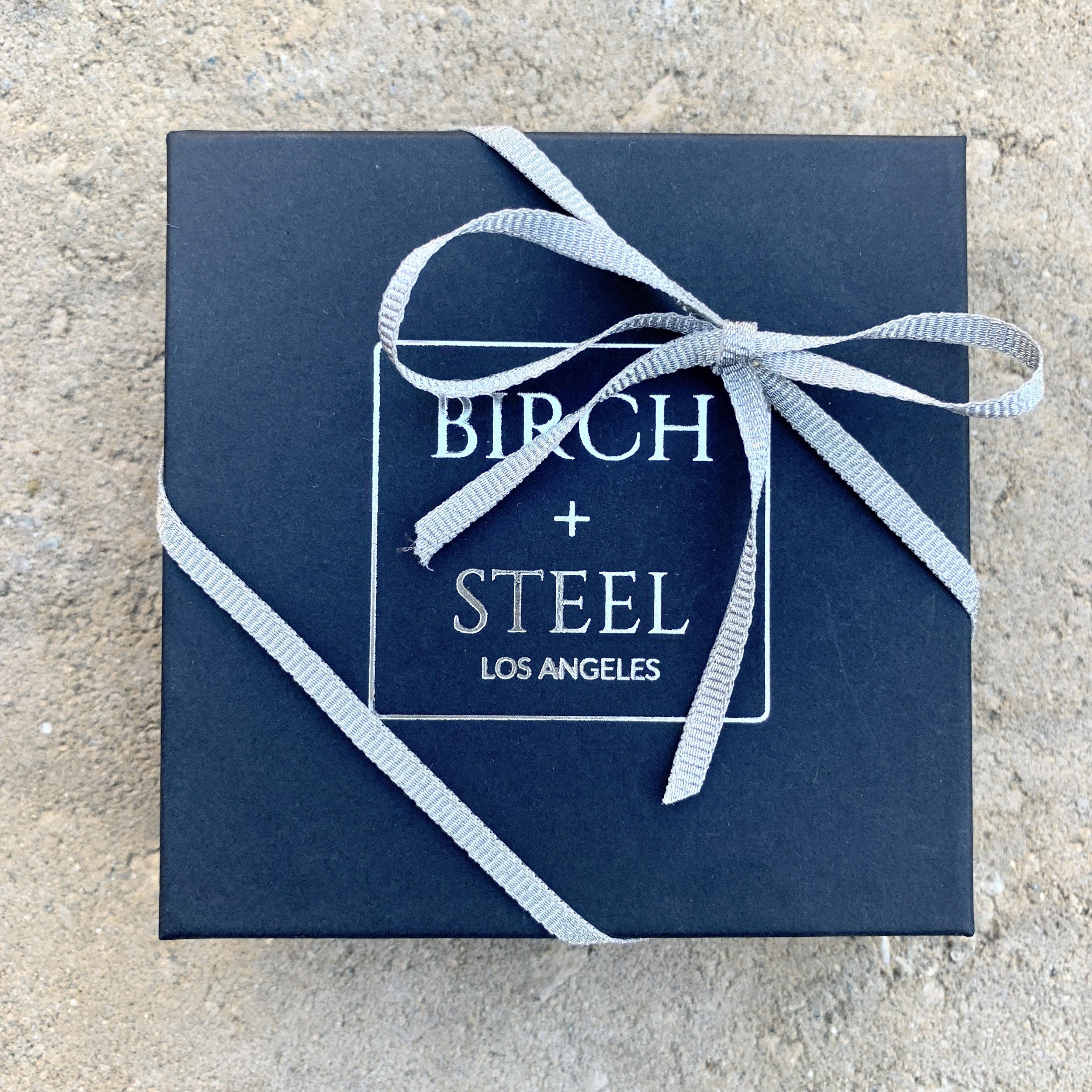 Add-On for Birch+Steel Leather Bracelet Resize Request