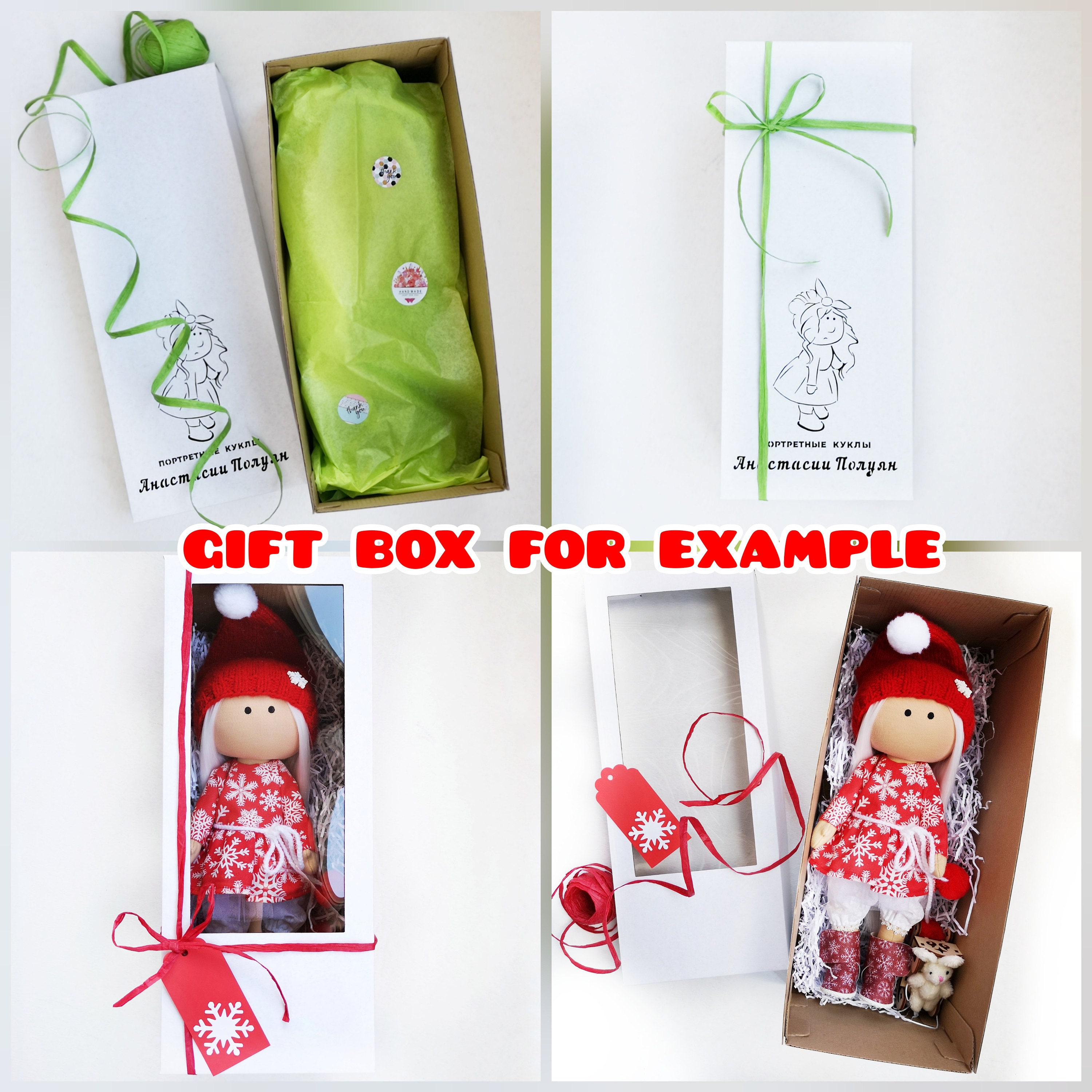 gallentines day gift Cute keychain country tilda doll