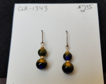 Earrings- new green and blue dangles
