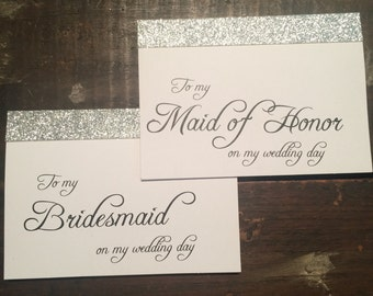 Wedding Card to my Maid of Honor / Bridesmaid