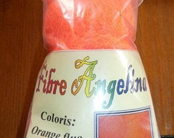 Angelina fiber, neon orange, 10 grams