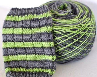 "Self-Striping Yarn - ""Sassy Shamrock"""