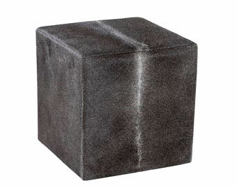 Ottoman Cube Exotic Dark Gray (made in USA) 16x16