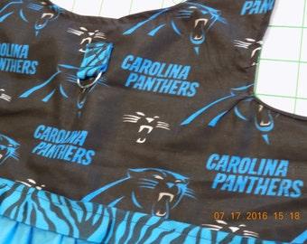Carolina Panthers//Dog Dress//Dog Clothing/Dog Dresses//A Must Have for Panthers Fans!!!!