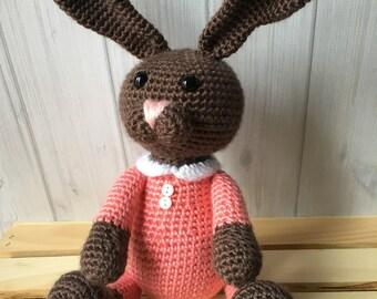 Bunny Plush Toy - Easter Bunny - Stuffed Animal - Easter Gift - Stuffed Toy - Toddler Toy - Easter Basket Stuffers
