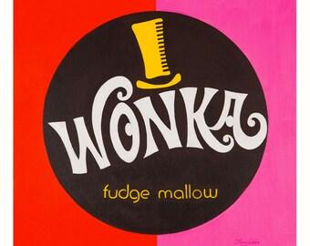 Wonka Fudge Mallow (Fine Art Print not a real Wonka Fudge Mallow)