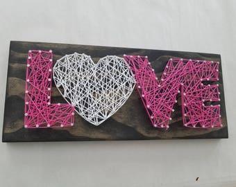 String Art Kit-Love
