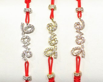 Love bracelet, With real sparkly cubic zirconia, A bracelet that pop, Safe to get wet, Priced to grab, Love gift to give or keep