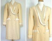 Vintage Tuxedo Dress - 80...