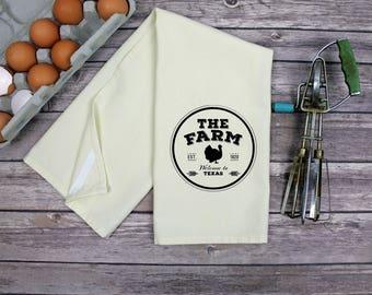 Kitchen Dish Towel - Tea Towel - The Farm