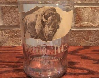 Buffalo Trace Kentucky Straight Bourbon Whiskey 750ml Bottle Glasses (2)