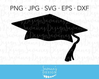 Graduation SVG File, Graduation Hat SVG, Graduation Cap SVG, Graduation Svg, Graduation Clipart, Graduation Clip Art, Svg Graduation