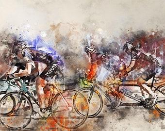 94.7, Cycle Race, tandem, bicycle   Digital download