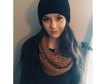 The Lily Infinity Scarf (Made To Order)