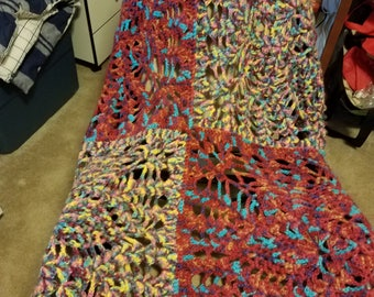 Large Square Pineapple Afghan