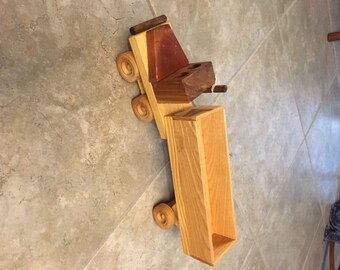 Handmade Wooden Open End Truck