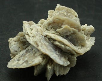 Quartz pseudomorph after Gypsum ' desert rose', Nebraska Mineral Specimen for Sale