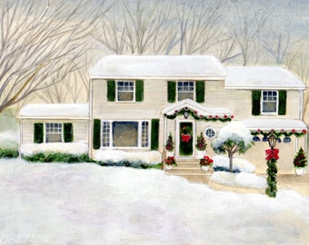 Custom Paintings of Your Home