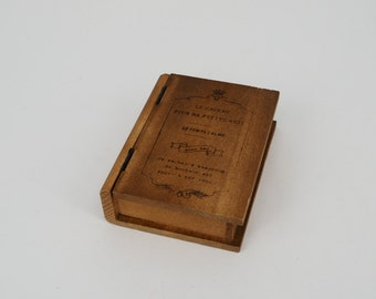 Wooden book box (s)