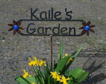 GREAT GIFT - Custom Name Garden Sign with Your Name Personalized