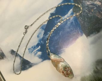 Madagascar Ocean Jasper Fish Necklace